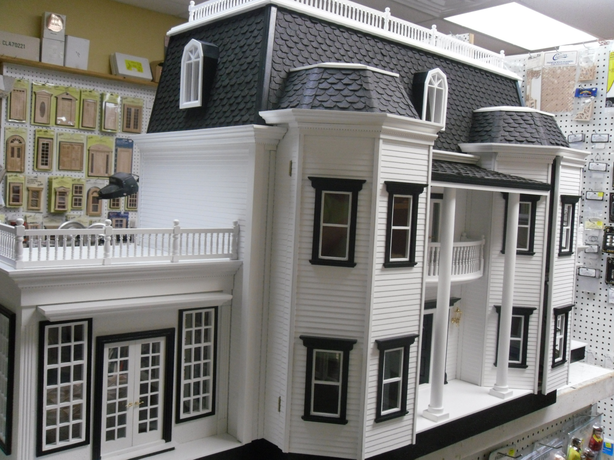 Delivery of Fox Hall Manor Dollhouse – Pastime Hobbies & Miniatures